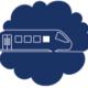 Icone symbolisant un train