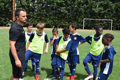 Intervention du coach sportif pour ces jeunes u13