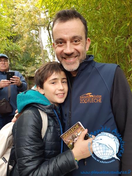 Conseils et sourires pour les guides du zoo La Flèche